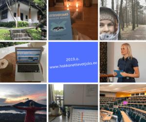Teekond ettevõtjaks 23#: edu ja ebaedu 2019. aastal