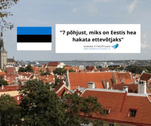 Ettevõtlusega alustamine, ettevõtlus, ettevõtja, miks hakata ettevõtjaks, elustiiliettevõtlus, ettevõtlus Eestis